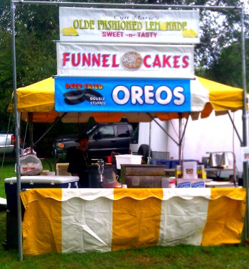Funnel Cake Stand