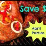 Catering Pennsylvania April