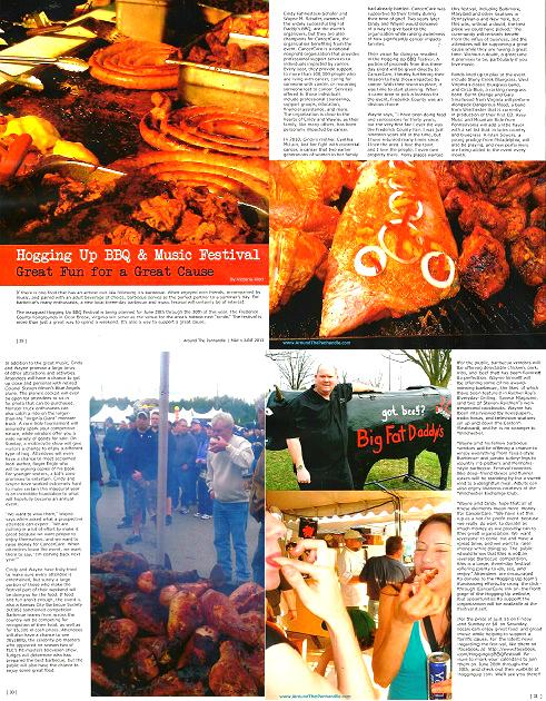 Around the Panhandle Magazine Article