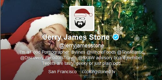 Follow Jerry James Stone of Cooking Stoned TV